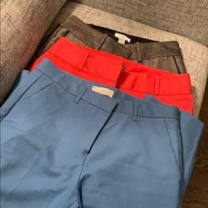 Ladies cropped tailored pants LOFT, Gap & Limited